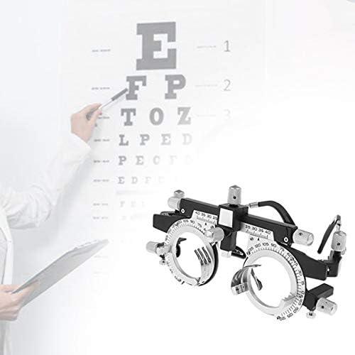 調整可能なプロフェッショナルアイウェア検眼メタルフレームオプティカルオプティクストライアルレンズメタルフレームPDメガネアクセサリーメタルフレーム