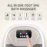 Turejo Foot Spa Bath Massager with Heat