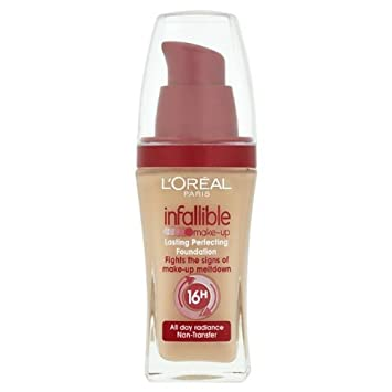 L'oreal Infallible 16h Makeup Foundation - 125 Natural Rose ...
