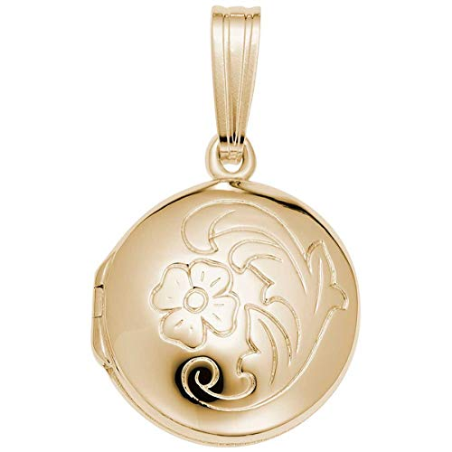 Rembrandt Charms Locket Charm, 10K Yellow Gold