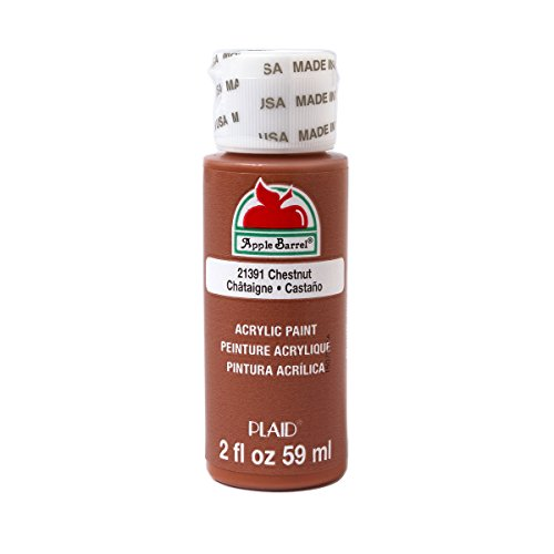 - Apple Barrel Acrylic Paint in Assorted Colors (2 oz), 21391, Chestnut