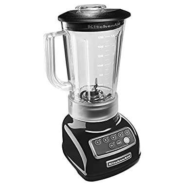 KitchenAid KSB1570OB 5-Speed Blender with 56-Ounce BPA-Free Pitcher - Onyx Black