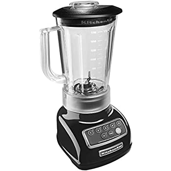 KitchenAid KSB1570OB 5-Speed Blender with 56-Ounce BPA-Free Pitcher - Onyx Black