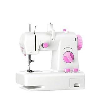 GSKTY Máquina de coser Hogar pequeño escritorio multifunción máquina de coser eléctrica 22 * 12 * 21 cm: Amazon.es: Hogar