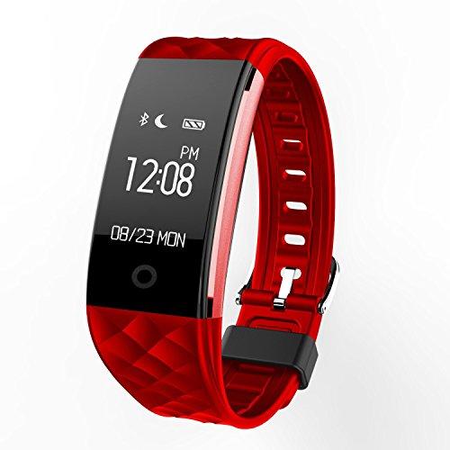 Fitness Tracker, Yarrashop Waterproof OLED Touch Screen S...