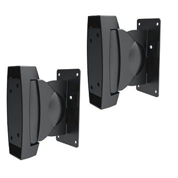 SAVONGA #302S - Soporte de pared/techo para altavoces pesados, inclinable, un par soporta hasta 10 kg de carga: Amazon.es: Electrónica