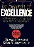 img - for In Search of Excellence: Lessons from America's Best-Run Companies book / textbook / text book