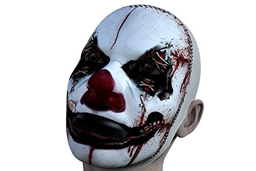 Home Comforts Peel-n-Stick Poster of Halloween Scary Horror Fear Spooky Clown Evil Poster 24x16 Adhesive Sticker Poster Print