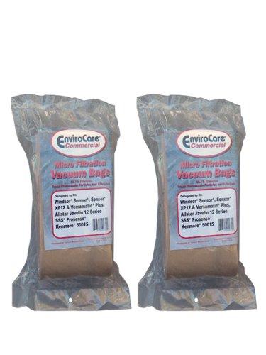 20 Commercial Vacuum Cleaner Allergy Bag Windsor Sensor X...