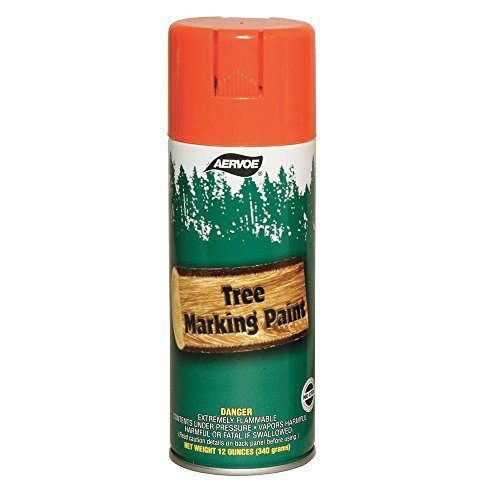 Tree Marking Paint, Orange, 16 oz.
