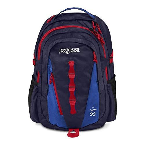 JanSport Tulare Backpack - Navy Moonshine/Blue Streak / 18.8H x 12.5W x 10.2D from JanSport