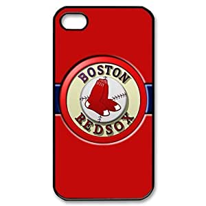 MLB Boston Red Sox Team Logo Iphone 4 4S Hard Cover Case