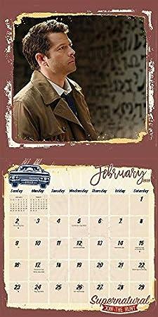 Amazon.com: Supernatural Calendario 2020 Set – Deluxe 2020 ...
