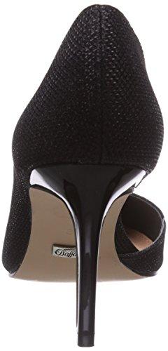 d09273ec507 ... Buffalo H733-25 P1855A - zapatos de tacón cerrados de material  sintético mujer negro ...