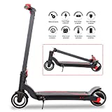 Electric Scooter with Bright Front LED Easy Foldable Carbon Fiber E-Scooter Electric Bicycle for Kid and Adult(36V/7.8AH)