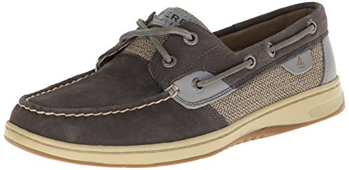 Sperry Top-Sider Women's Bluefish Washable Boat Shoe, Graphite, 6 M US