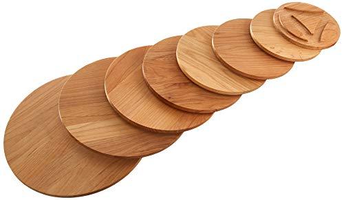 8 Tier Cookware Stand - Enclume Cws8 8-Tier Alder Board Set,