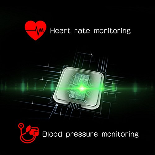 Smart Bracelet with Blood Pressure Monitor, Fitness Tracker Bracelet Heart Rate Monitor Sport Watch for IOS Android