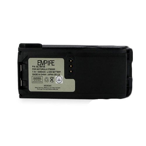 BLI-8610S Li-Ion Battery - Rechargeable Ultra High Capacity (3400 mAh) - replacement for Motorola NNTN8610BR Battery