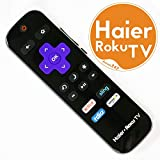 55 haier - Haier Roku TV Remote HTR-R01 for TV 32E4000R, 32E4000RA, 32E4500R, 32E4500RA, (43