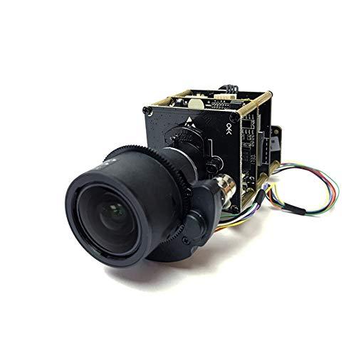 (marviosafer 12MP UHD 4K IP PTZ Camera Module Board 3X Zoom Motorized Lens Onvif UHD CCTV Camera(12MP 3.6-11mm)