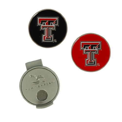 Team Effort Texas Tech Red Raiders Hat Clip & 2 Ball Markers ()