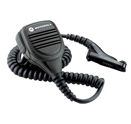 Motorola Original PMMN4025 PMMN4025A IMPRES Remote Speaker Microphone w/ 3.5mm Audio Jack for MotoTurbo XPR6300, XPR6350, XPR6380, XPR6500, XPR6550, ()