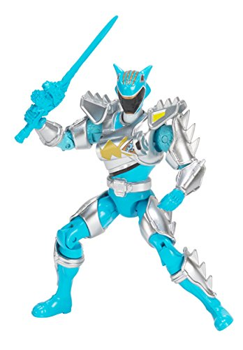 Power Rangers Dino Super Charge - Dino Super Drive Aqua Ranger Action Figure, 5