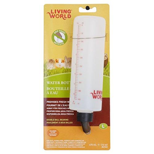 Living World Guinea Pig Bottle, 16-Ounce, with hanger