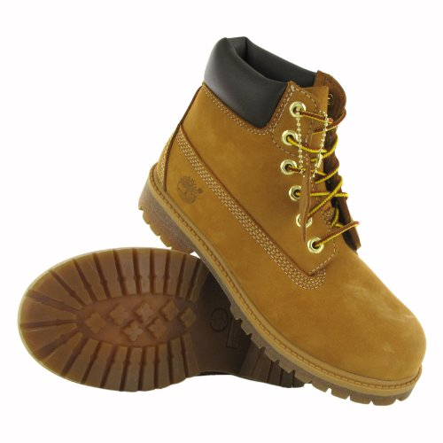 UK Timberland Childrens Inch Juniors Infants 10 Childrens Boot and 6 Premium 28 Wheat Euro Hv1FHq