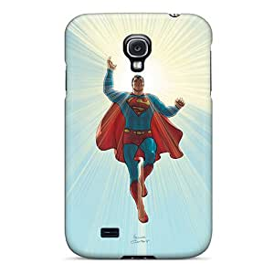 Samsung Galaxy S4 YUn8601ZzXq Support Personal Customs Colorful Superman Skin Shock Absorption Hard Phone Cases -ChristopherWalsh