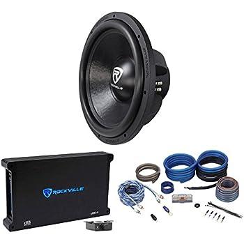"""Amazon.com: Rockville W15K6D4 V2 15"""" 4000w Car Audio"""