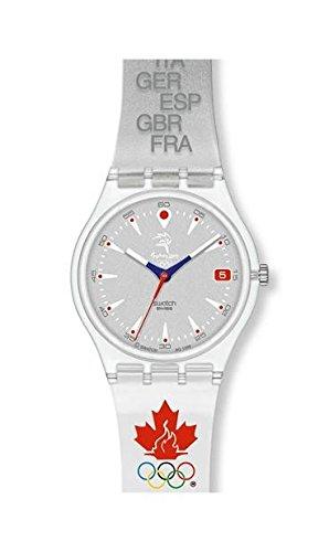 Swatch - Reloj Swatch - GK419E - Run After Canada - GK419E: Amazon.es: Relojes