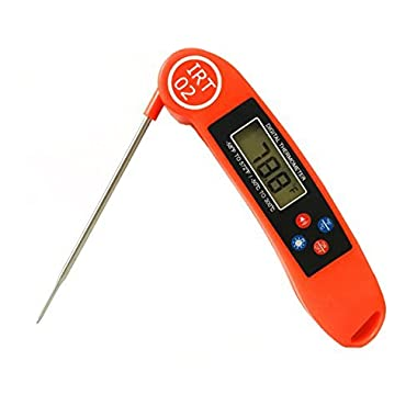 TALKING Meat Thermometer by Instant Read Thermometers - Digital Cooking Thermometer for All Food, Grill, BBQ and Candy