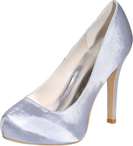 Argenté Nice Silver Femme Sandales Find Plateforme 36 5 fIZqxw