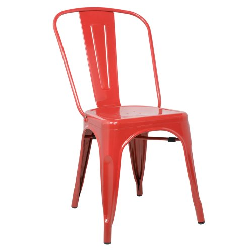 Fine Mod Imports Decorative Furniture Talix Chair, Red by Fine Mod Imports