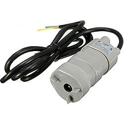 12V DC 1.2A 5M 14L/Min 840L/H 6-15V For solar Aquarium Three Core Micro Submersible Motor Water Pump