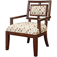 Madison Park Exposed Wood Arm Chair