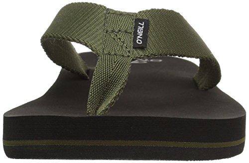 O'Neill Men's Bolsa Sandal Flip-Flop, Army, 10 Medium US by O'Neill (Image #4)