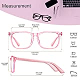 Blue Light Blocking Glasses 2pack Square Computer
