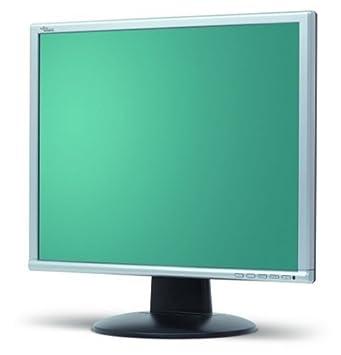 Fujitsu Scaleoview L17-4 43,2 cm (17 Zoll) TFT-Monitor DVI silber (Kontrast  800: 1, 5 ms Reaktionszeit)