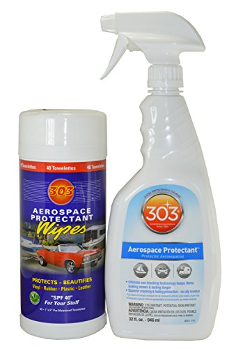 303 Aerospace Protectant 32 Oz Spray And 303 Aerospace Protectant Wipes