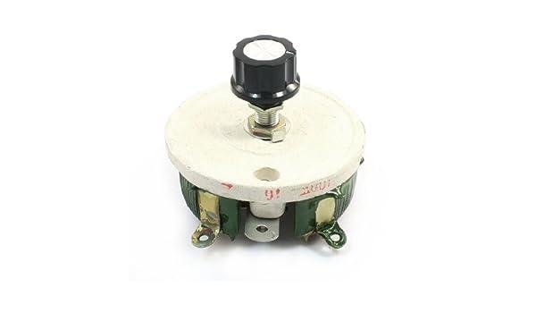 100W 10 Ohm potenciómetro variable de cerámica de la forma cónica Pot Resistencia reostatos - - Amazon.com