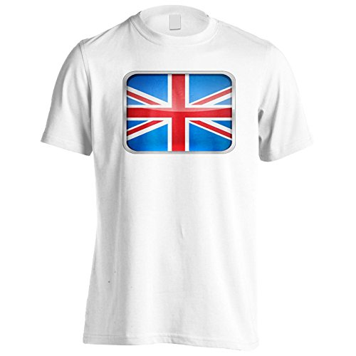 Neue Uk Flagge Schöne Form Herren T-Shirt l946m