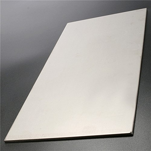 ChaRLes Titanium Alloy Plate 6AL4V Titanium Plate 300x150x3mm