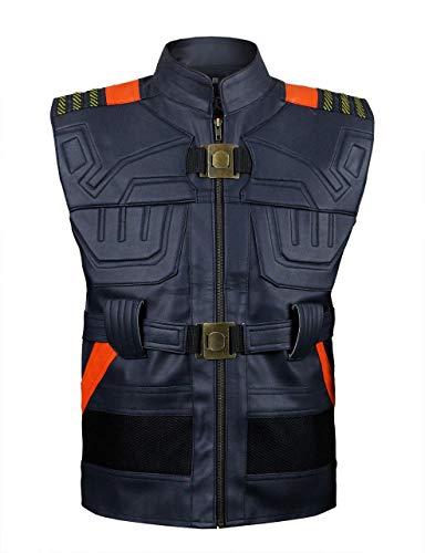 Black Panther Erik Killmonger (Michael B Jordan) Vest …Large by Sartorial Art