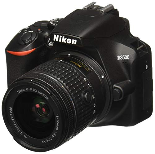 Nikon D3500 W/ AF-P DX NIKKOR 18-55mm f/3.5-5.6G VR Black (Best Nikon Dx Camera)