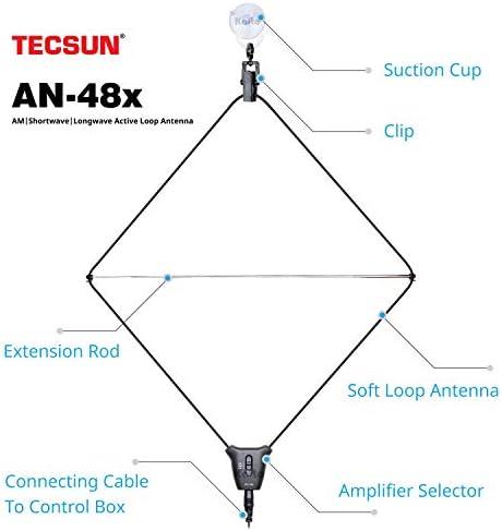 Antena Electr/ónica Universal de Techo Alca con Amplificador