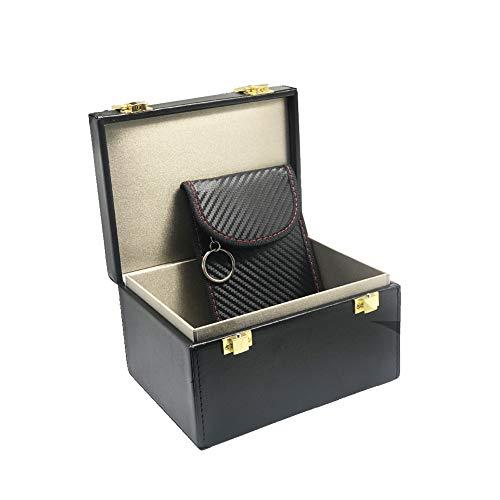 GUHIMO Anti Theft Faraday Box, Car Security RFID Phones Cards Call Faraday Shielding Box Protector Blocker Storage Box…