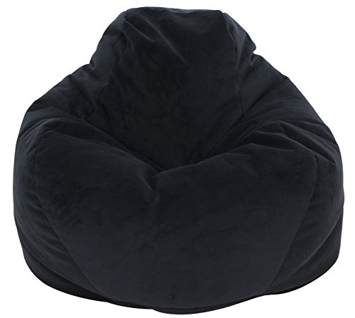 Mainstay Reverse Seam Soft Sided Lounger, Black